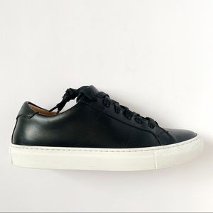 GREATS Brooklyn Shoes Black The Royal Nero Sz 8